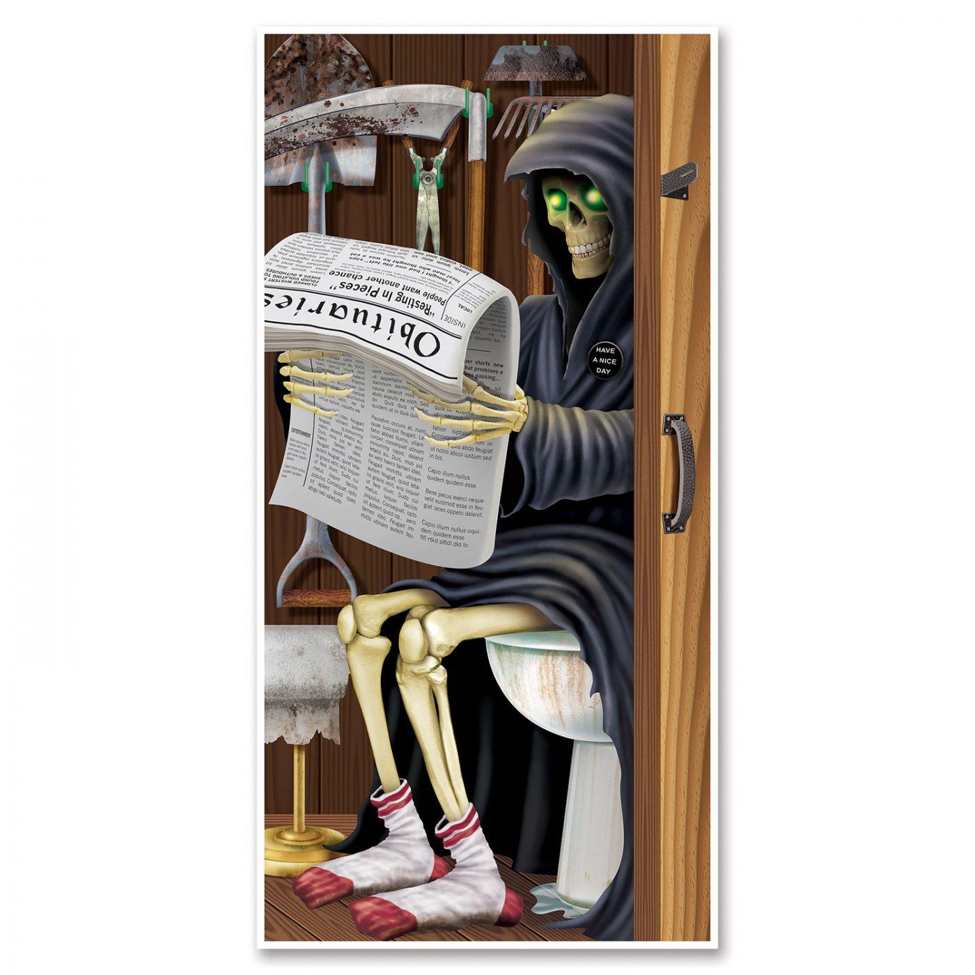 Grim Reaper Restroom Door Cover image