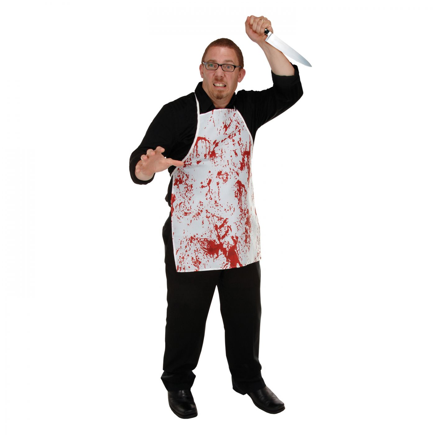 Halloween Horror Fabric Novelty Apron (6) image