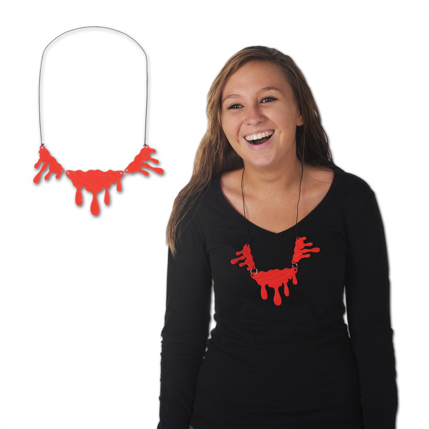Dripping Blood Necklace image