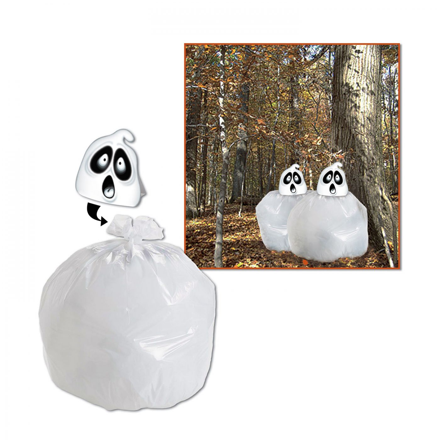 Spooky Spirit Leaf Bag image