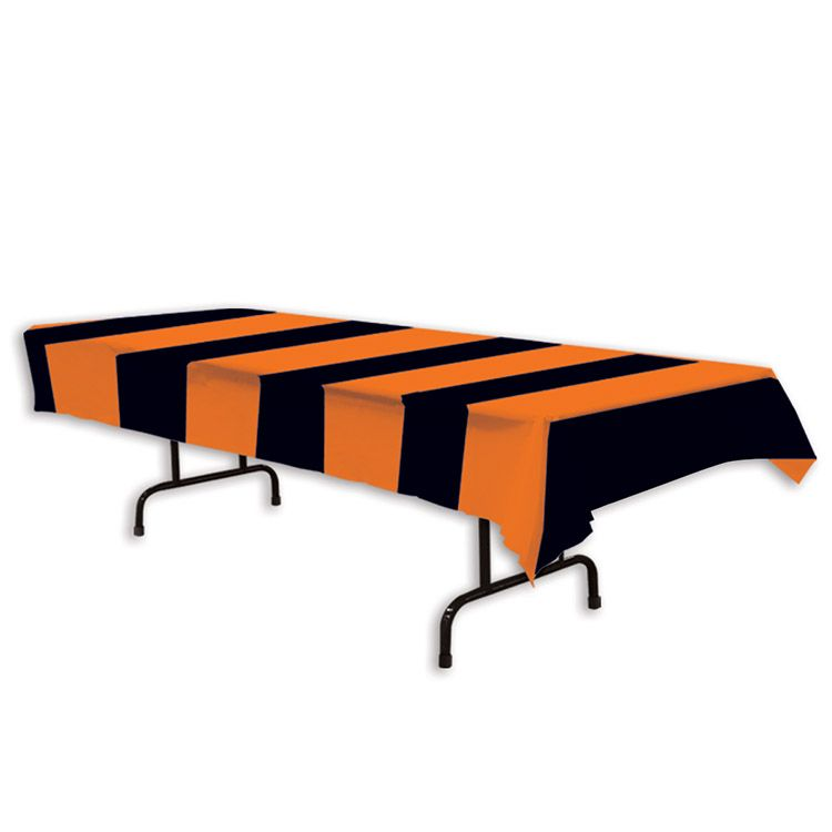 Orange & Black Stripes Tablecover image