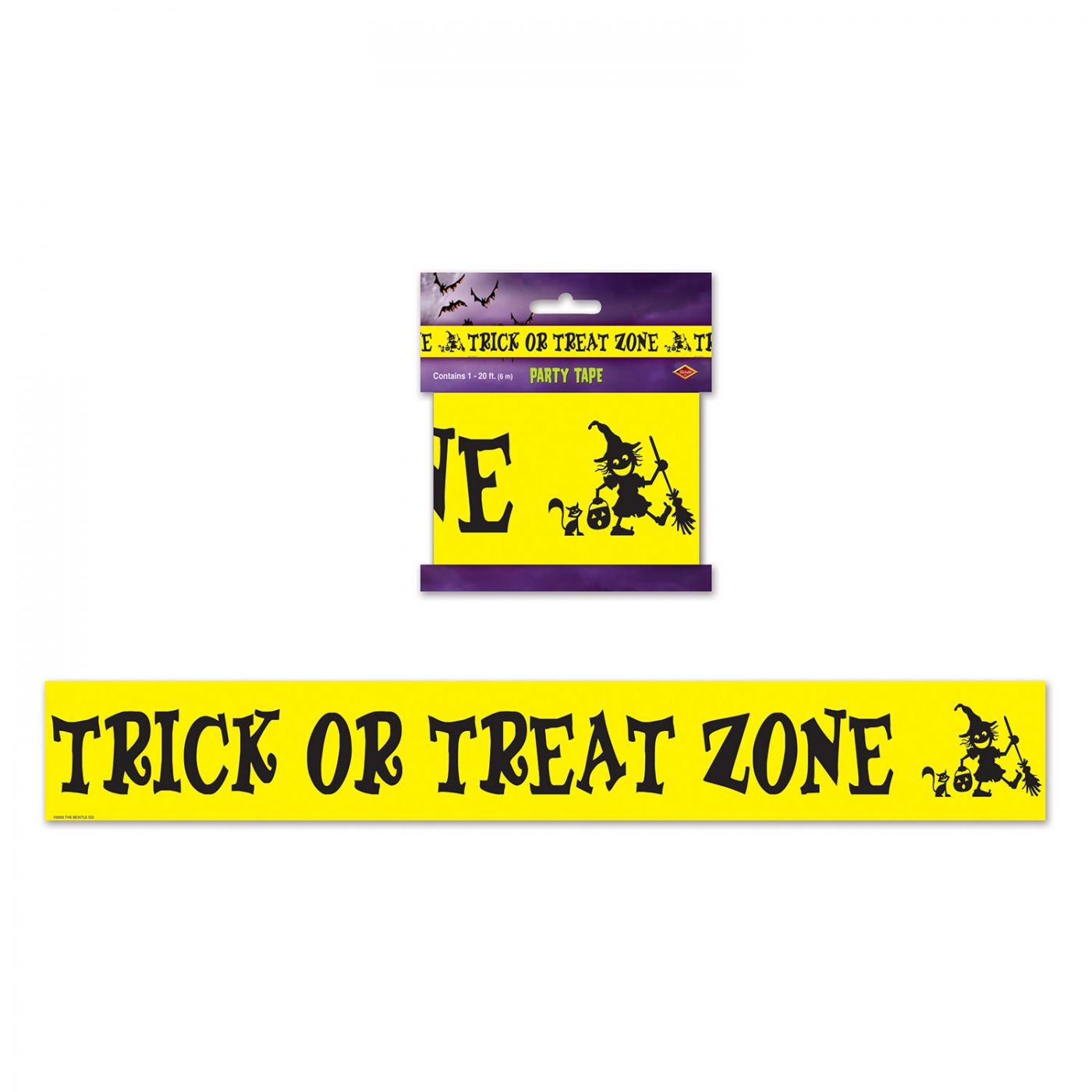 Trick Or Treat Zone Party Tape image