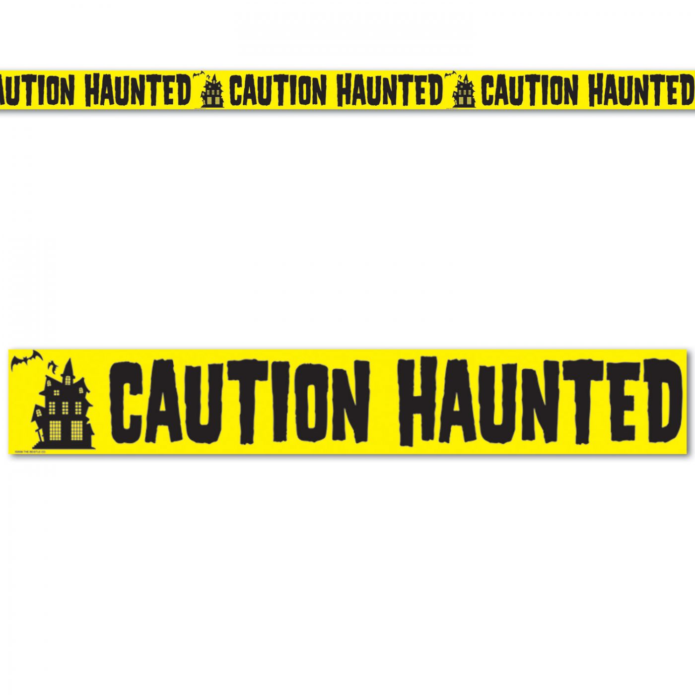 Caution Haunted Party Tape image