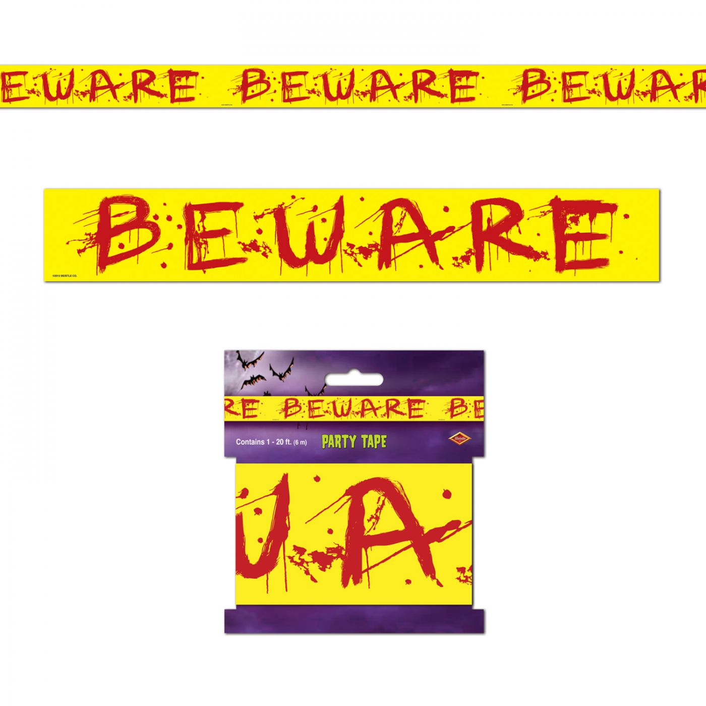 Beware Party Tape image