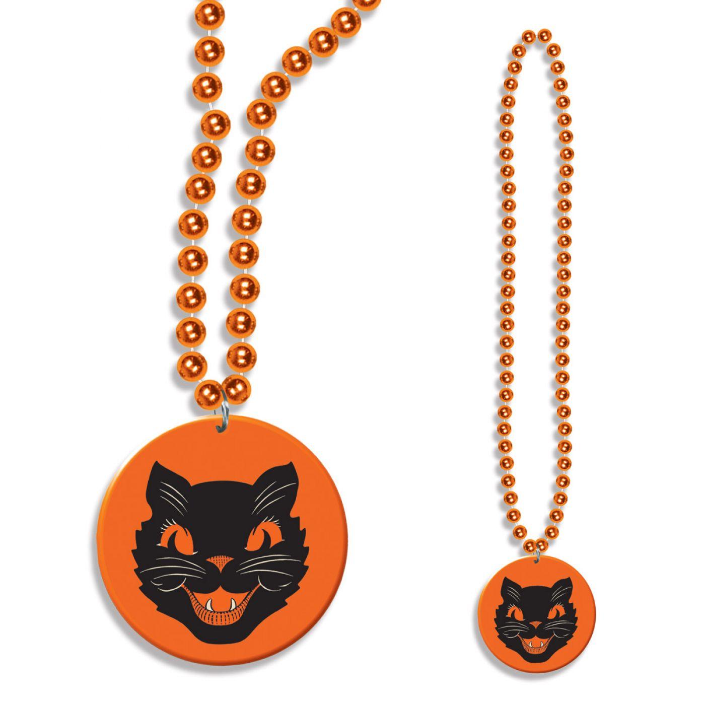 Beads w/Cat Medallion image