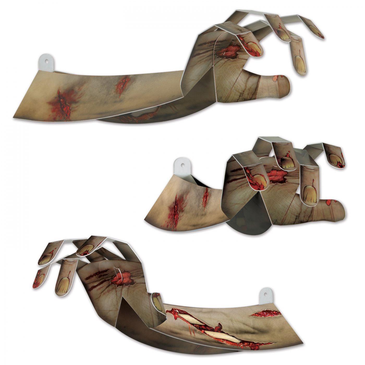 3-D Zombie Hands image