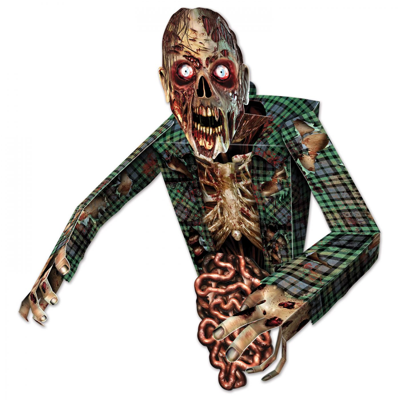 Image of 3-D Zombie Wall Decoration (6)