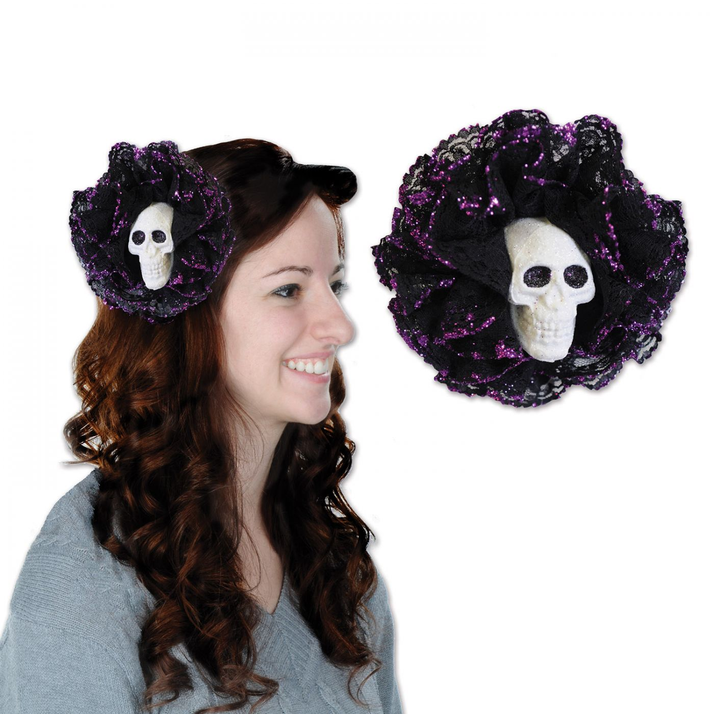 Skull Hair Clip image
