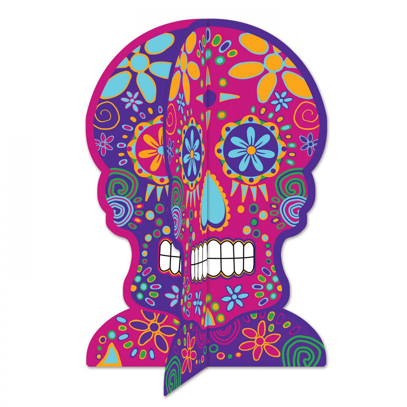 3-D Day Of The Dead Centerpiece image