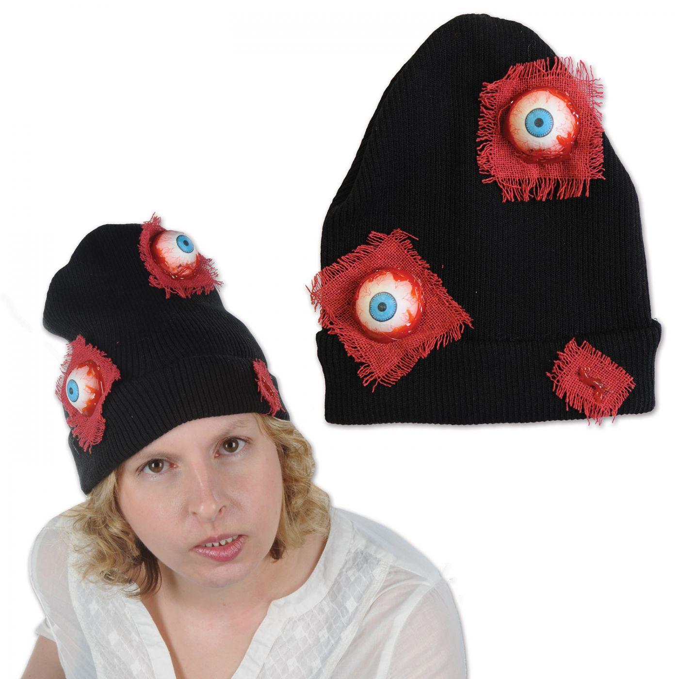Eyeballs Knit Cap image