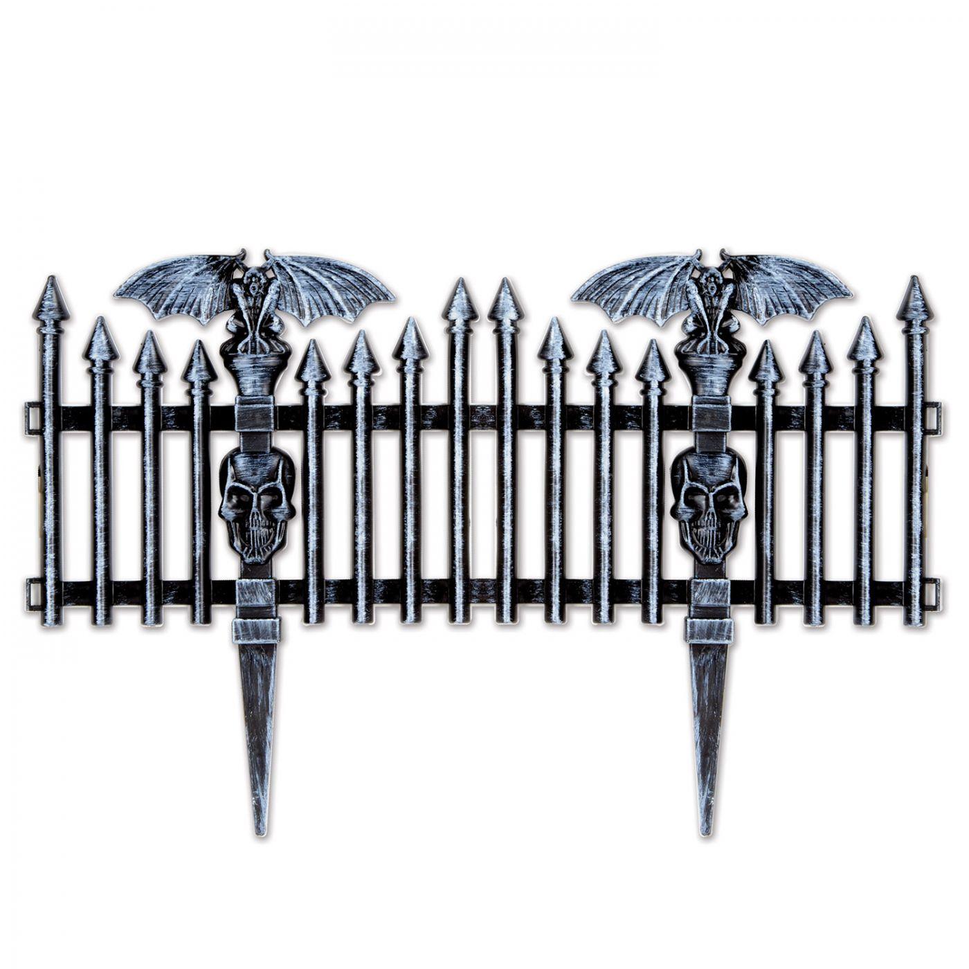 Plastic Gothic Fence (6) image