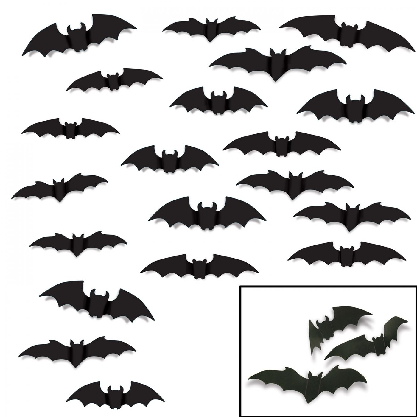 Image of Bat Silhouettes