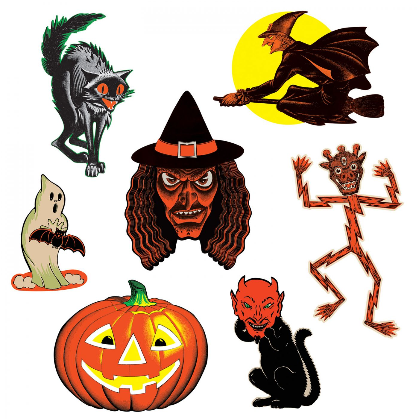 Vintage Halloween Classic Cutouts image