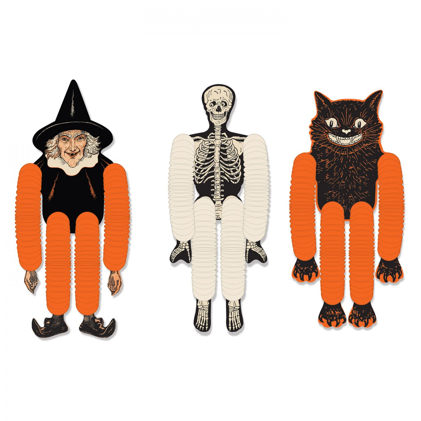 Image of Vintage Halloween Tissue Dancers