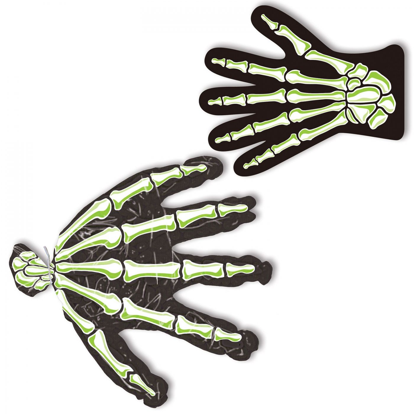 Skeleton Hand Treat Bags (24) image