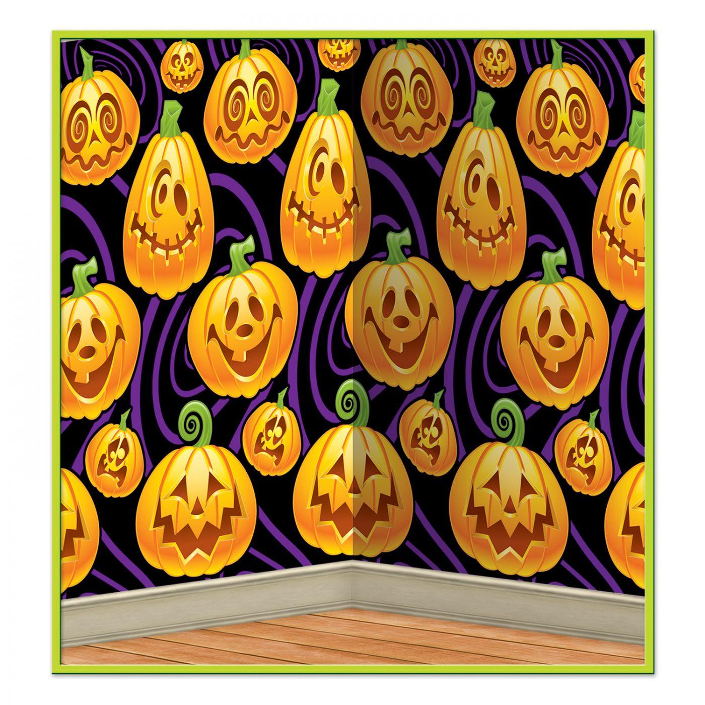 Jack-O-Lantern Backdrop (6) image