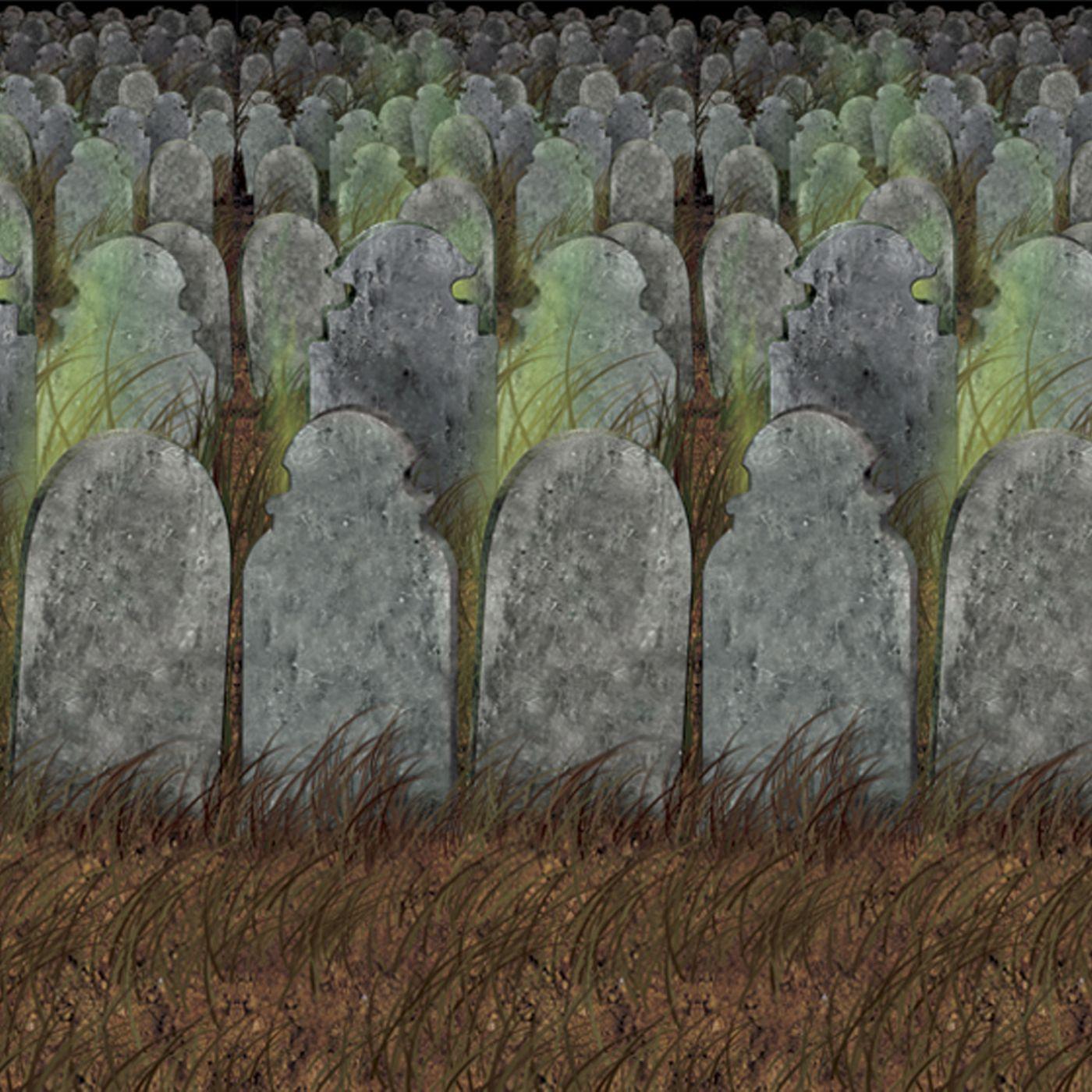 Graveyard Backdrop (6) image