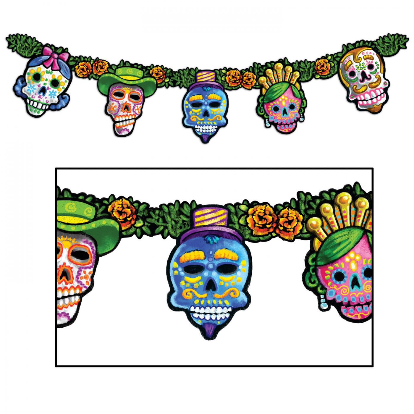 Image of Day Of The Dead Streamer