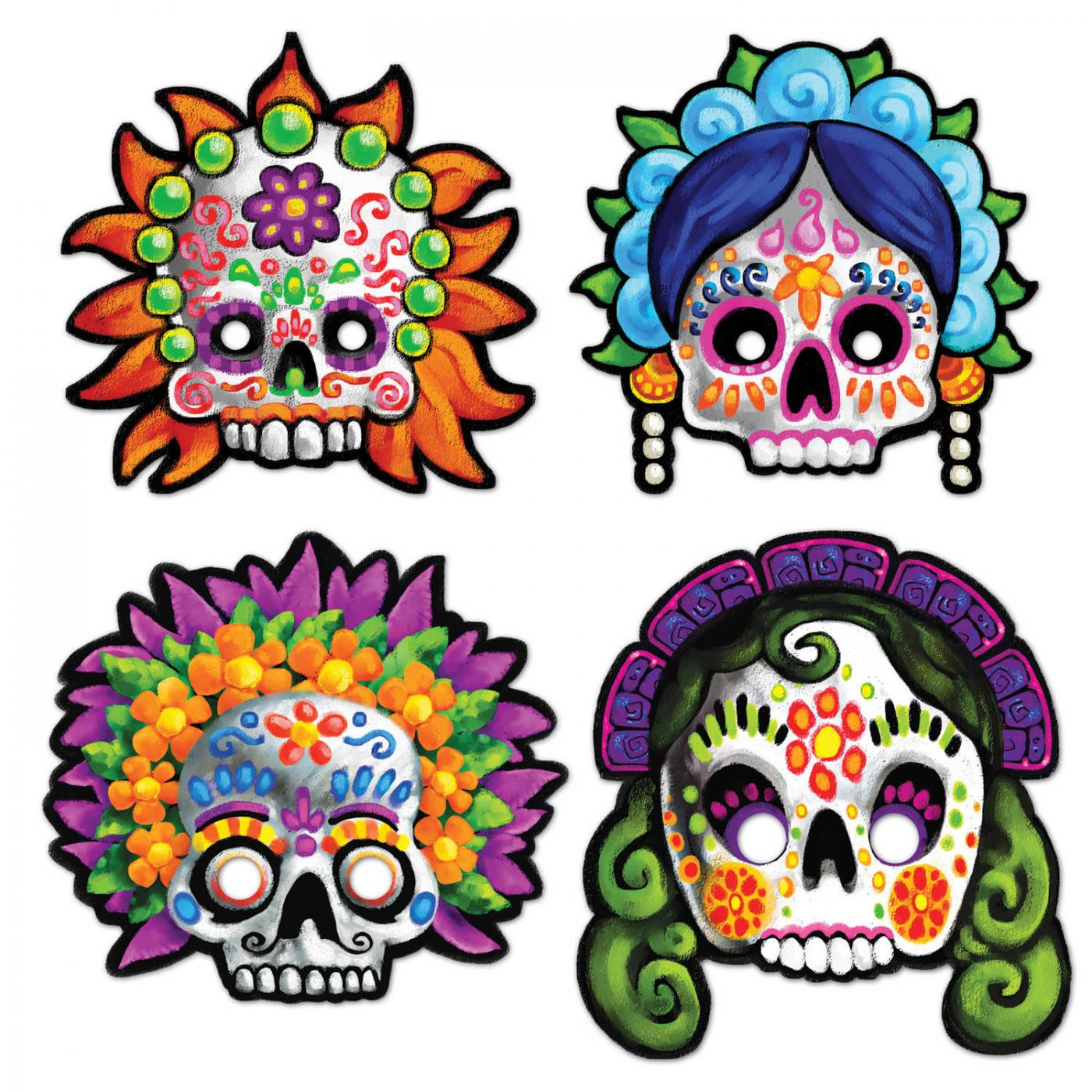 Day Of The Dead Masks image