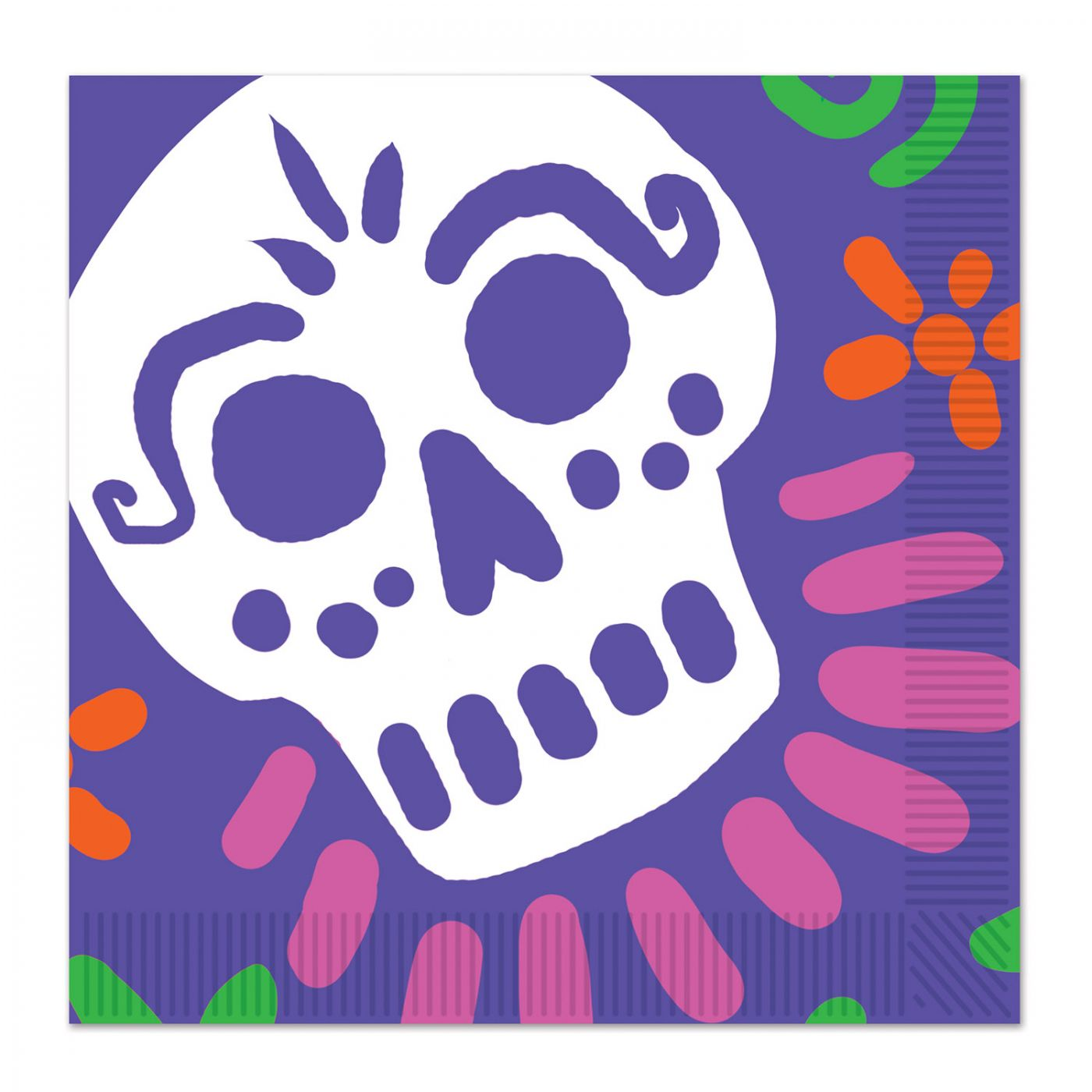 Day Of The Dead Luncheon Napkins image