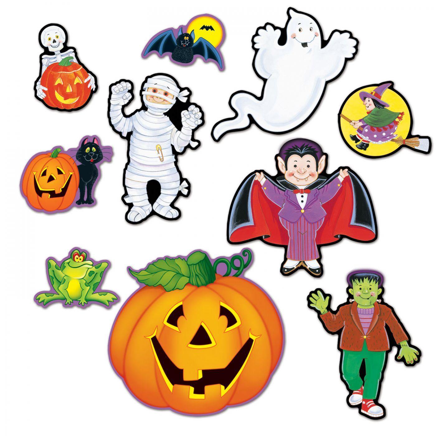 Halloween Cutouts image