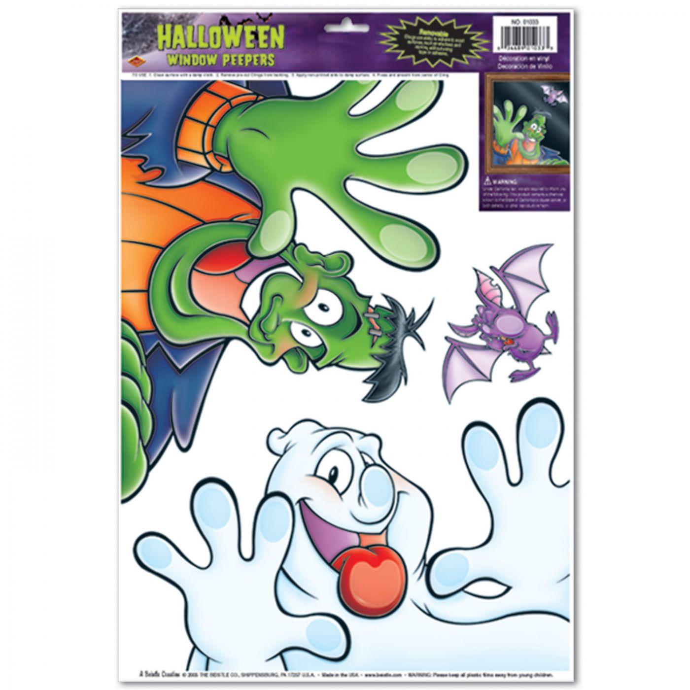 Halloween Peeper Clings image