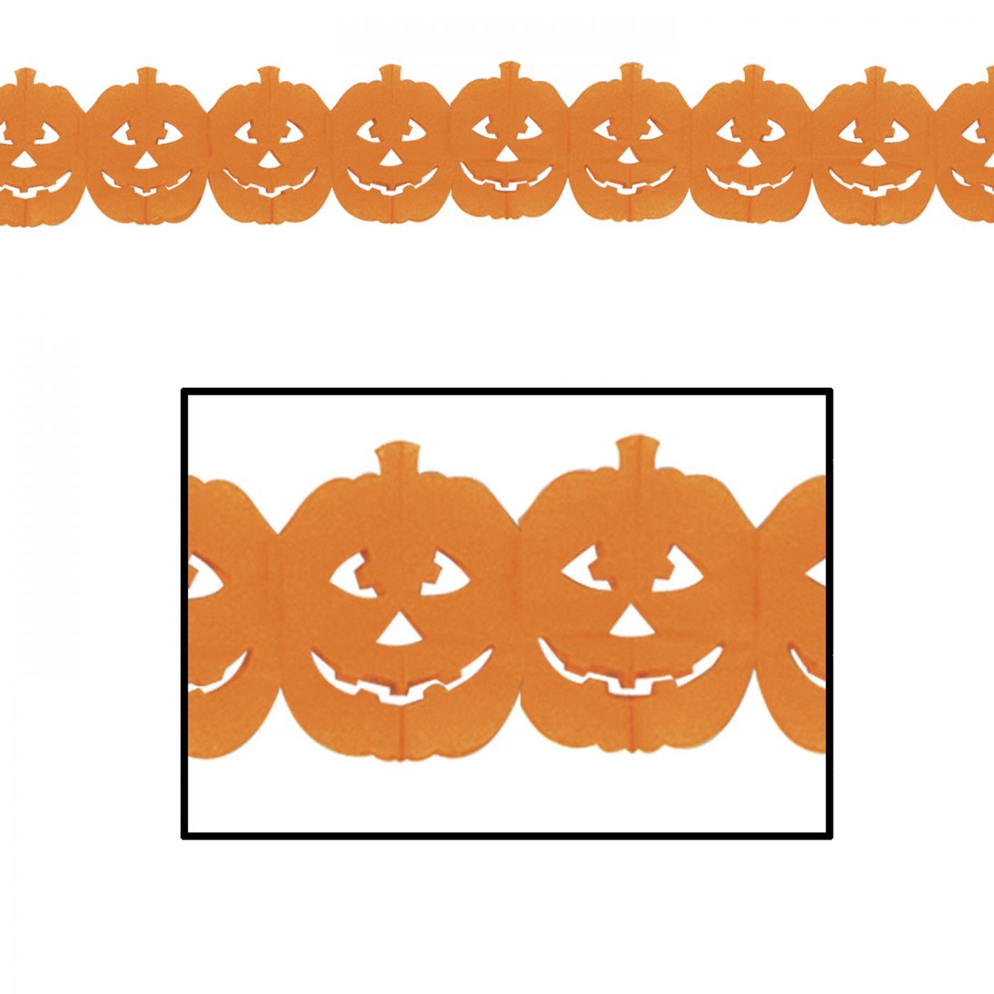 Jack-O-Lantern Garland image
