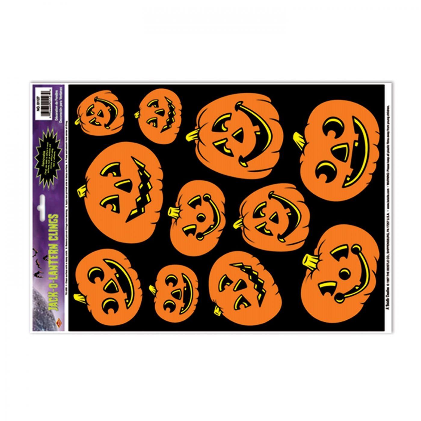 Jack-O-Lantern Clings image