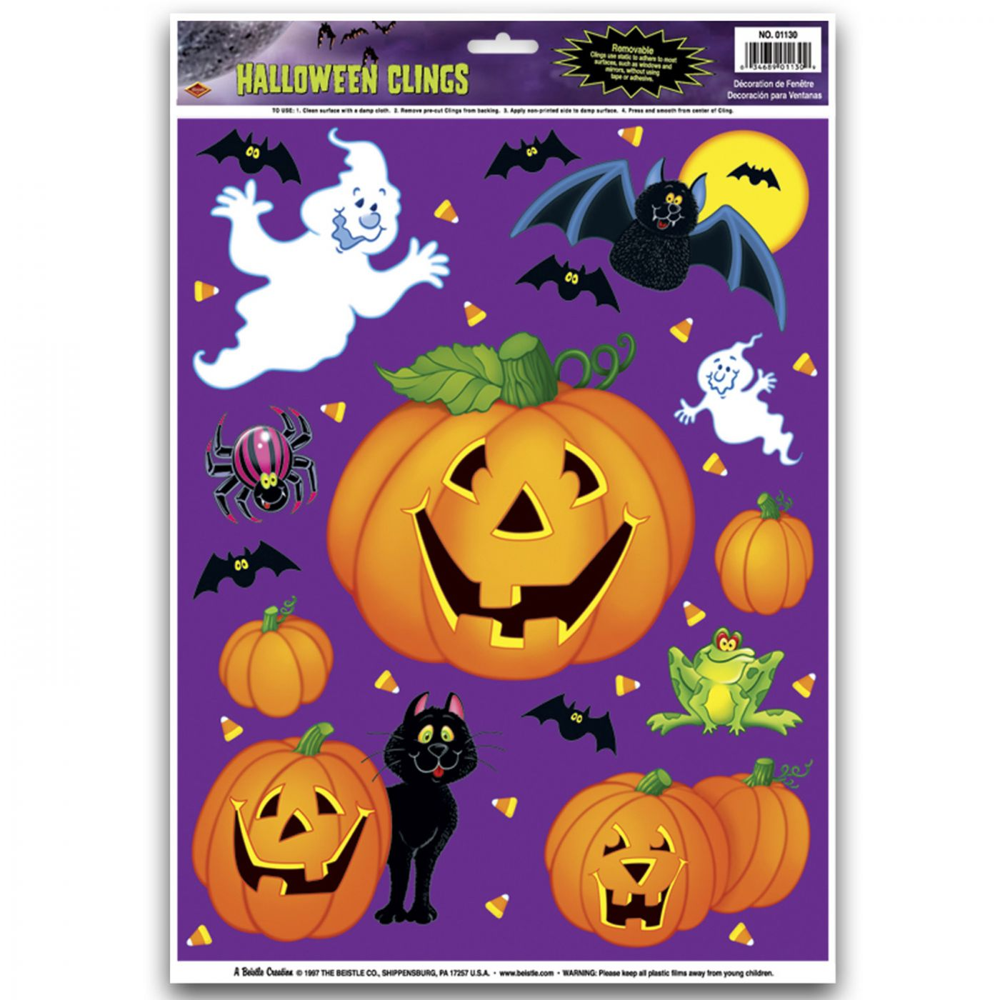 Pumpkin Patch Clings image