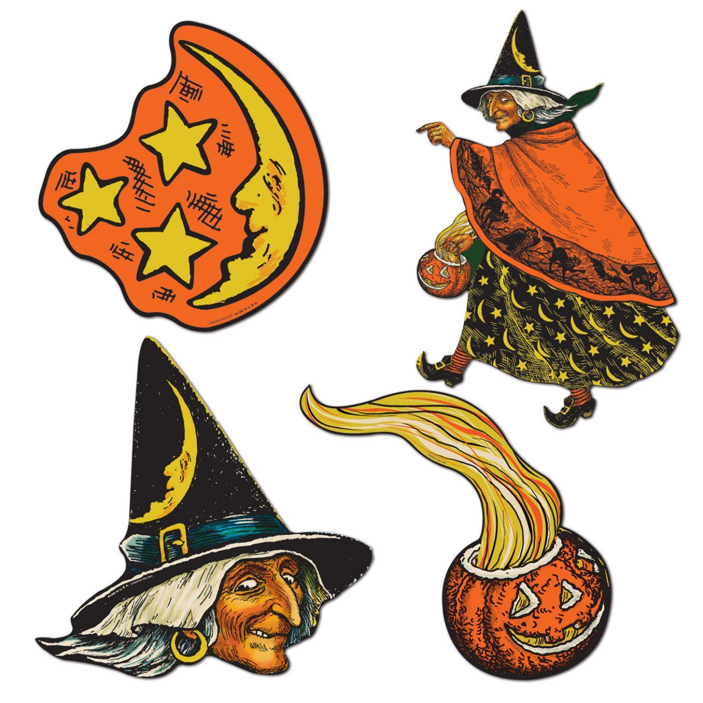 Vintage Halloween Cutouts image