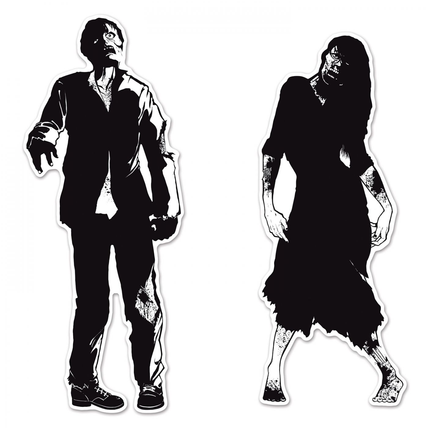 Zombie Silhouettes image