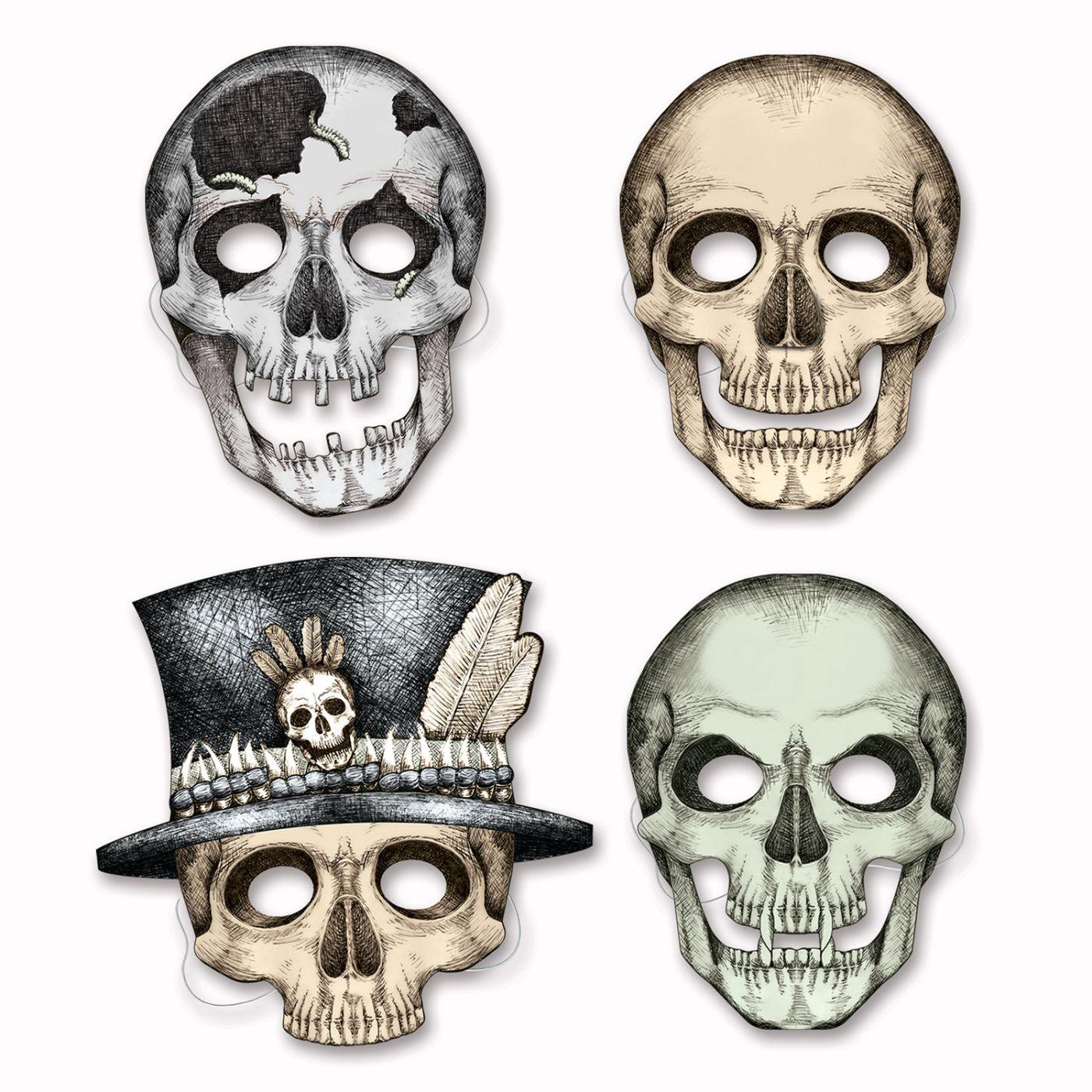 Skeleton Masks image