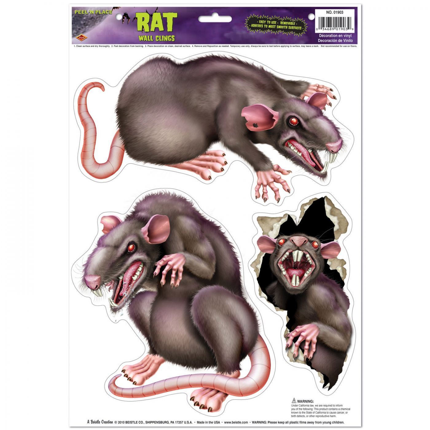 Image of Rats Peel 'N Place
