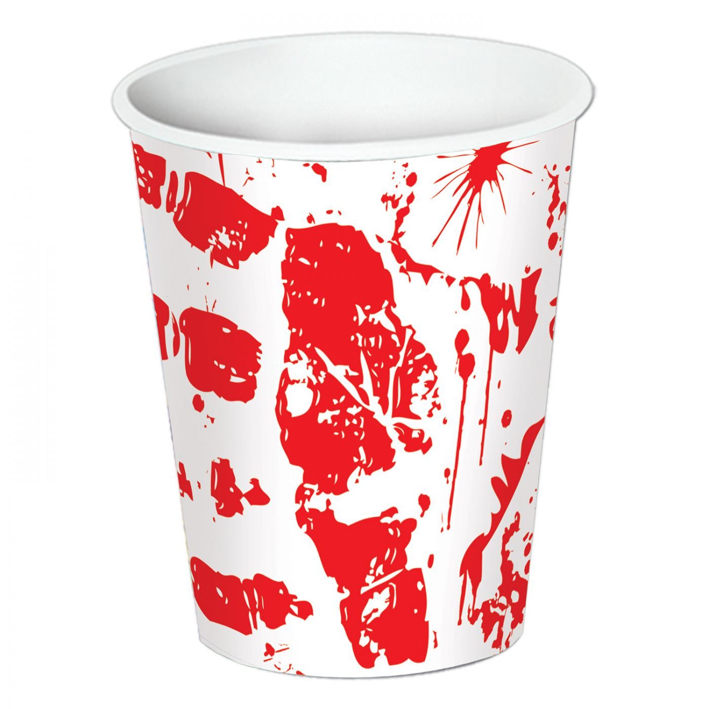 Bloody Handprints Beverage Cups image