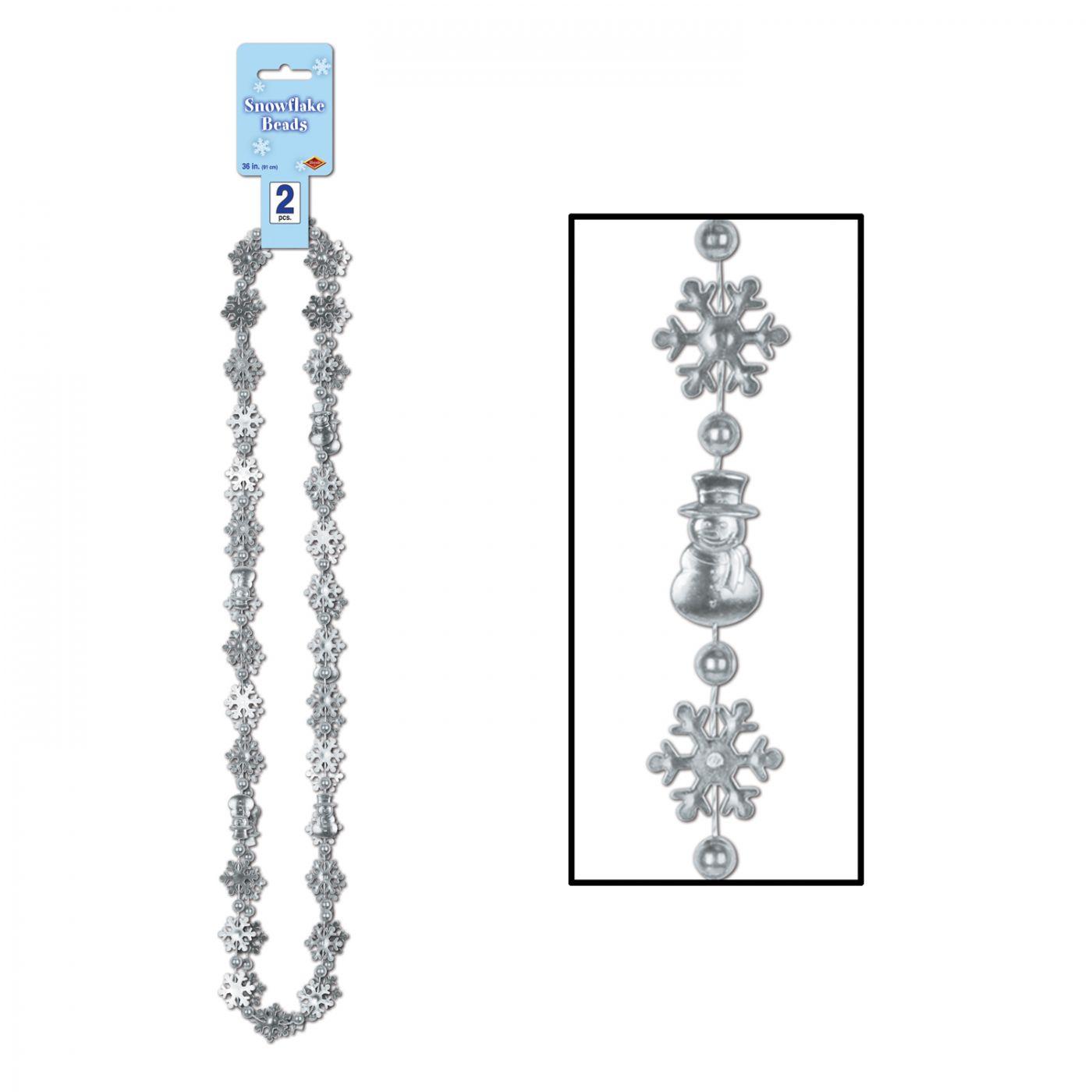 Snowflake Beads image
