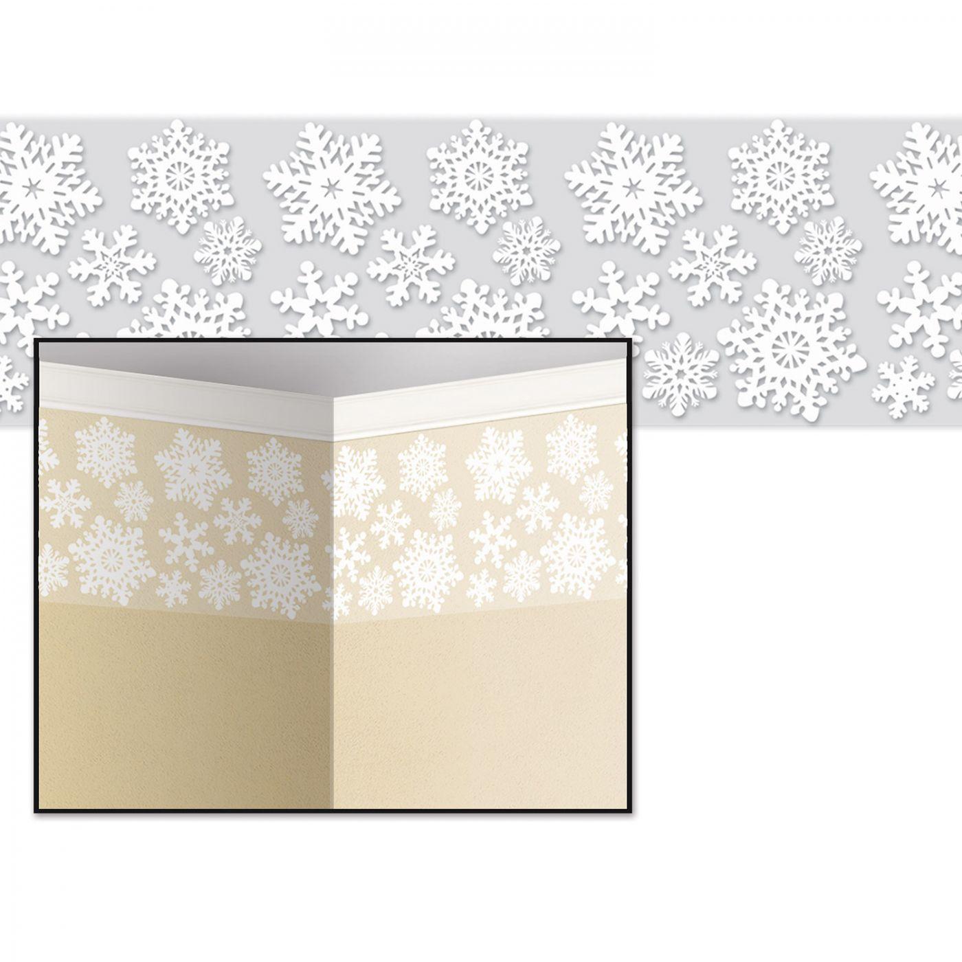 Snowflake Border (6) image