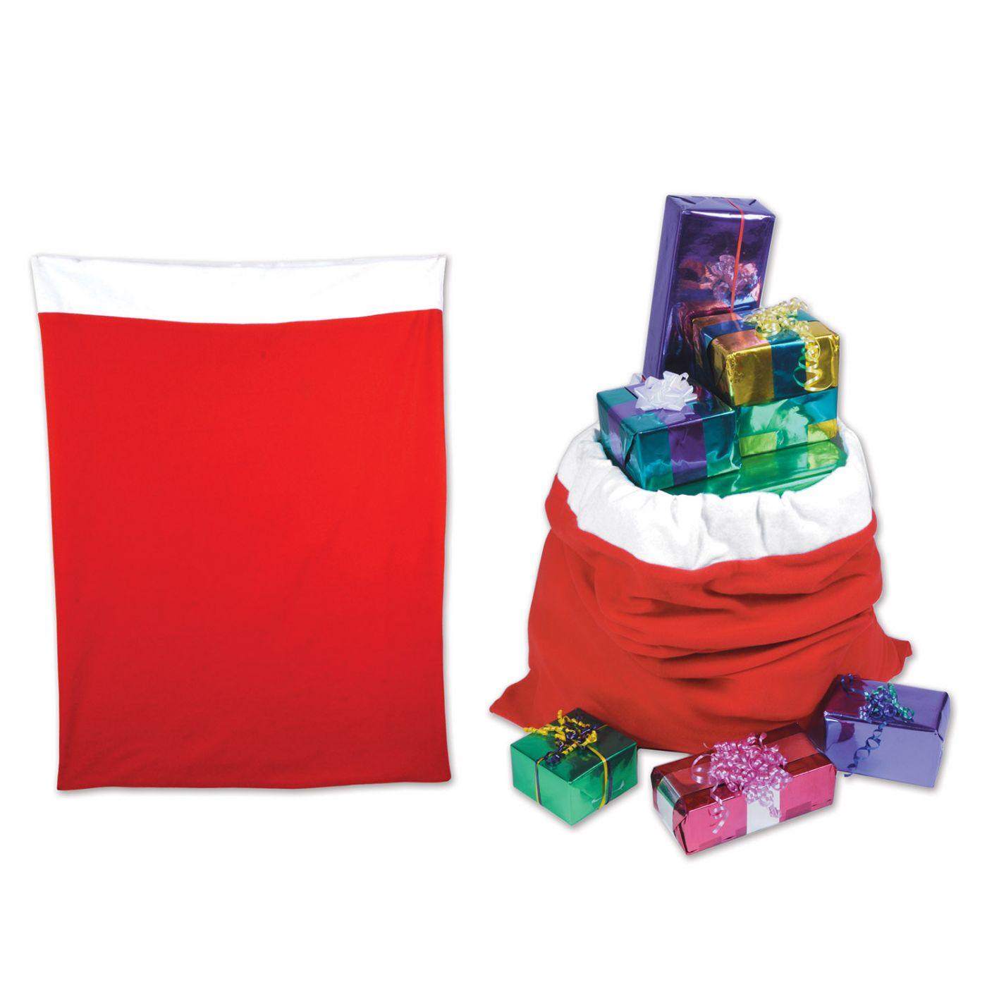 Plush Santa Gift Sack image