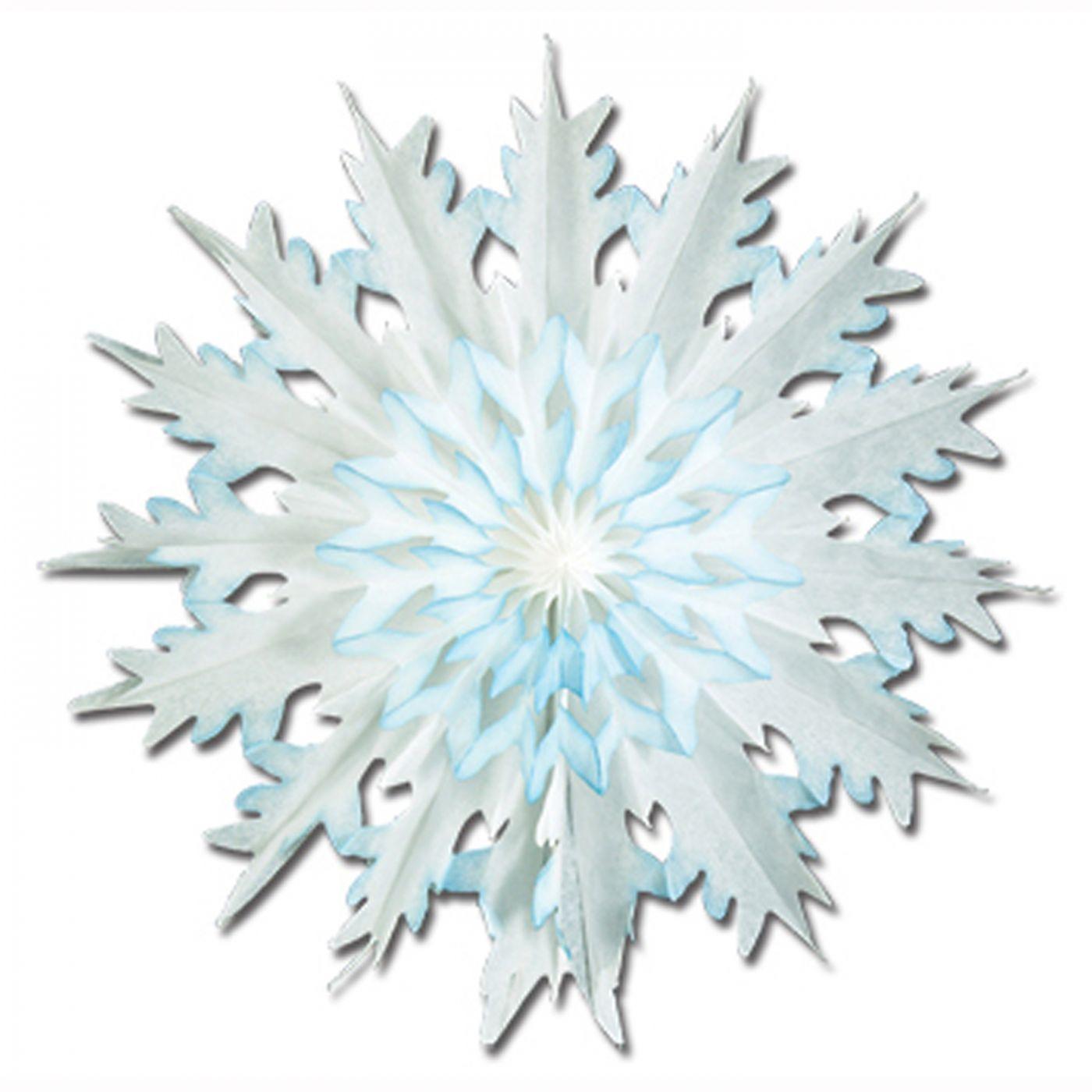 Dip-Dyed Snowflake image