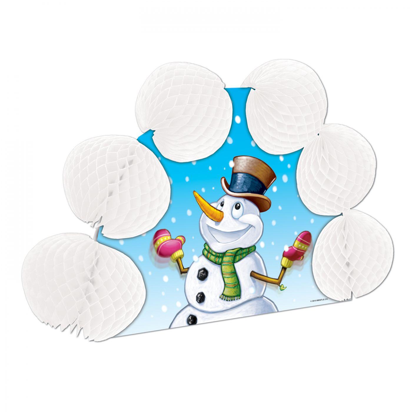 Snowman Pop-Over Centerpiece image