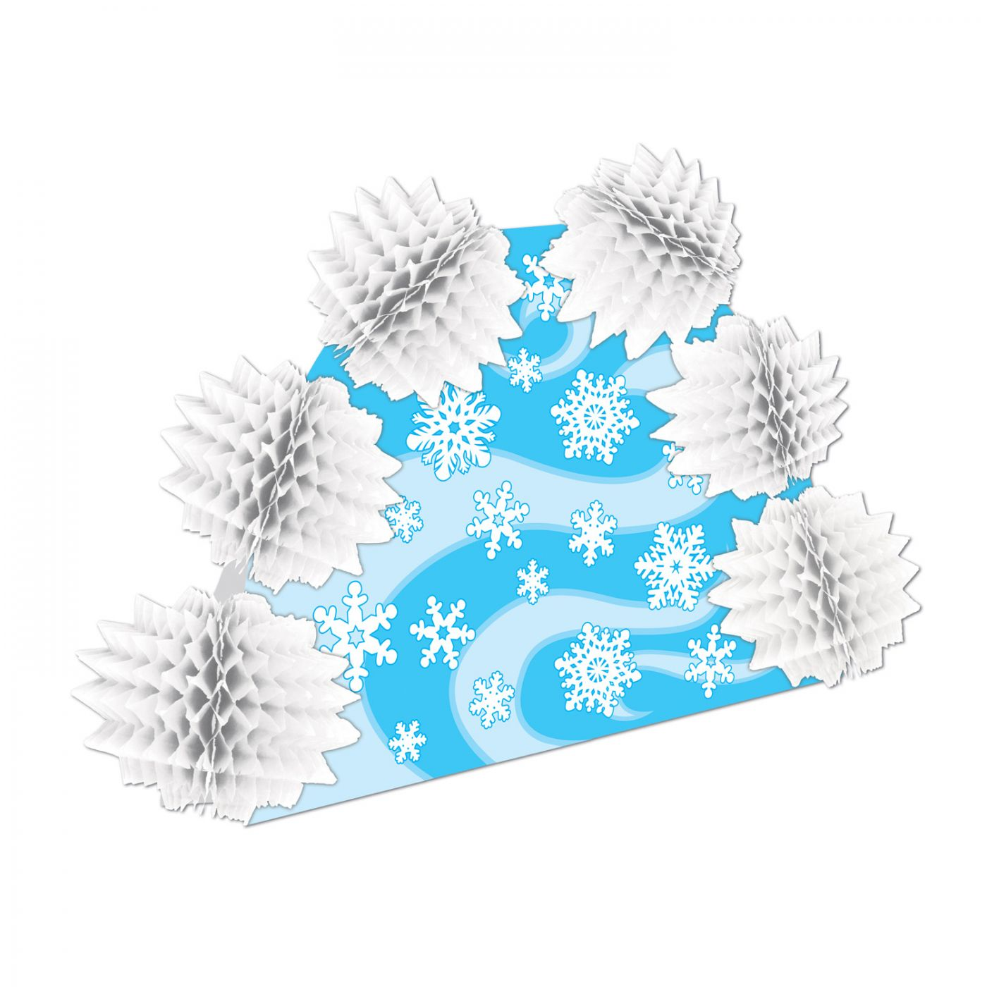 Snowflake Pop-Over Centerpiece image