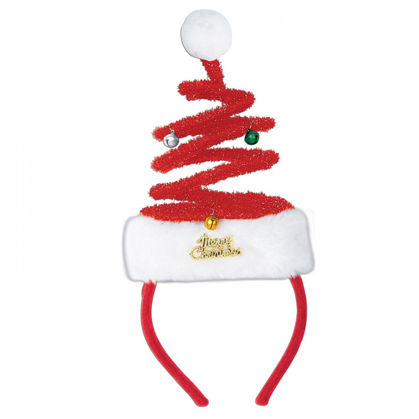 Springy Santa Headband image