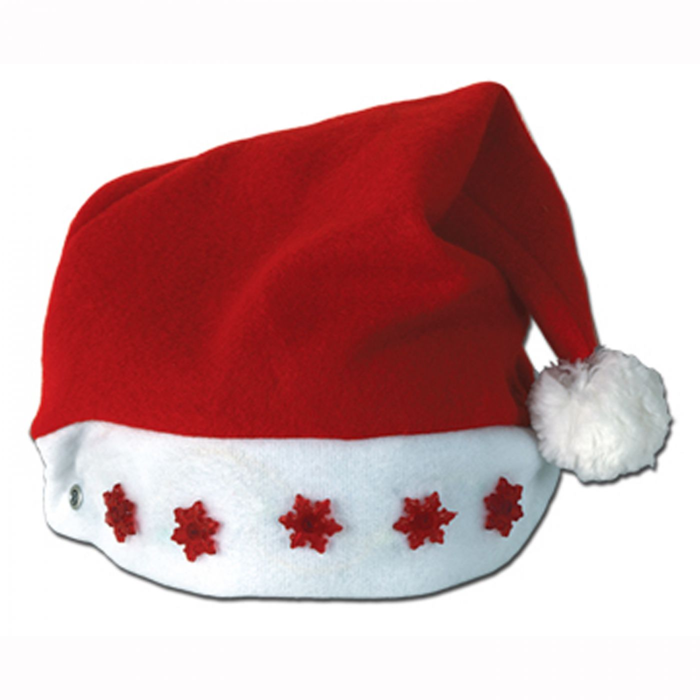 Light-Up Santa Hat image
