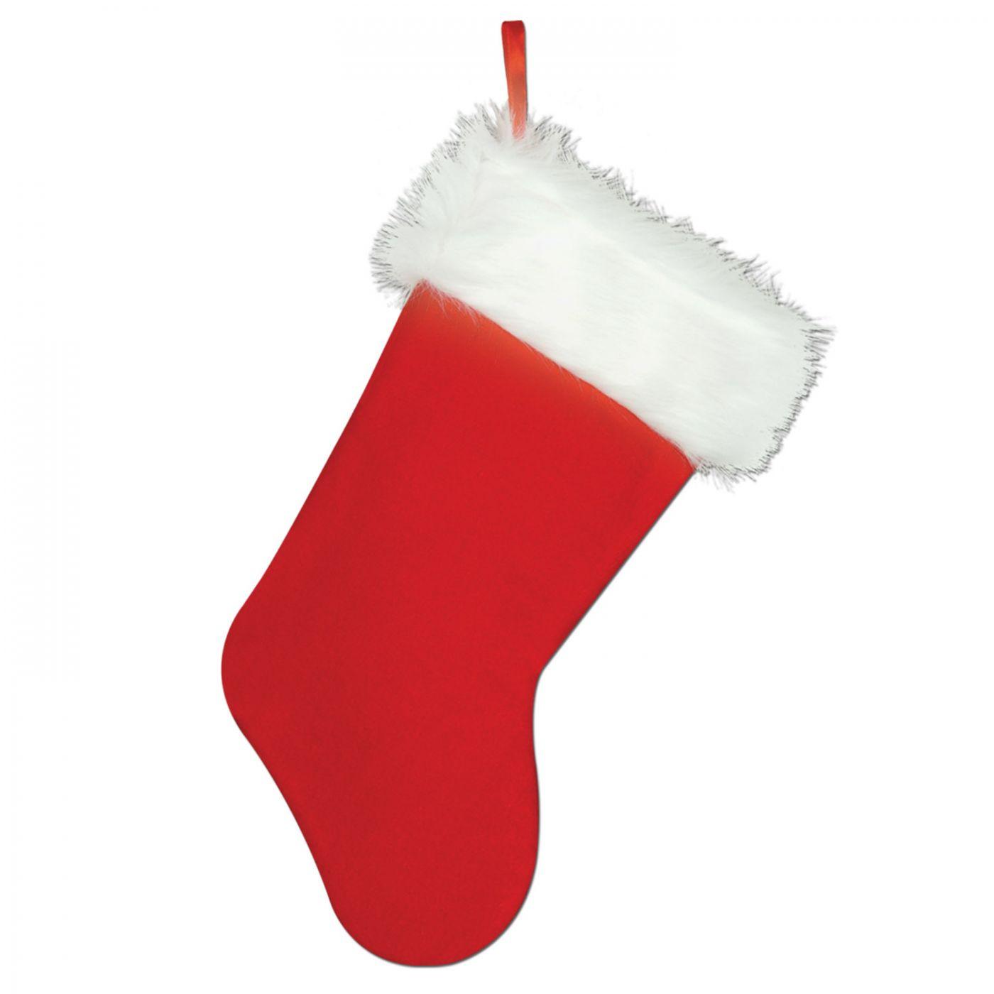 Plush Christmas Stocking image