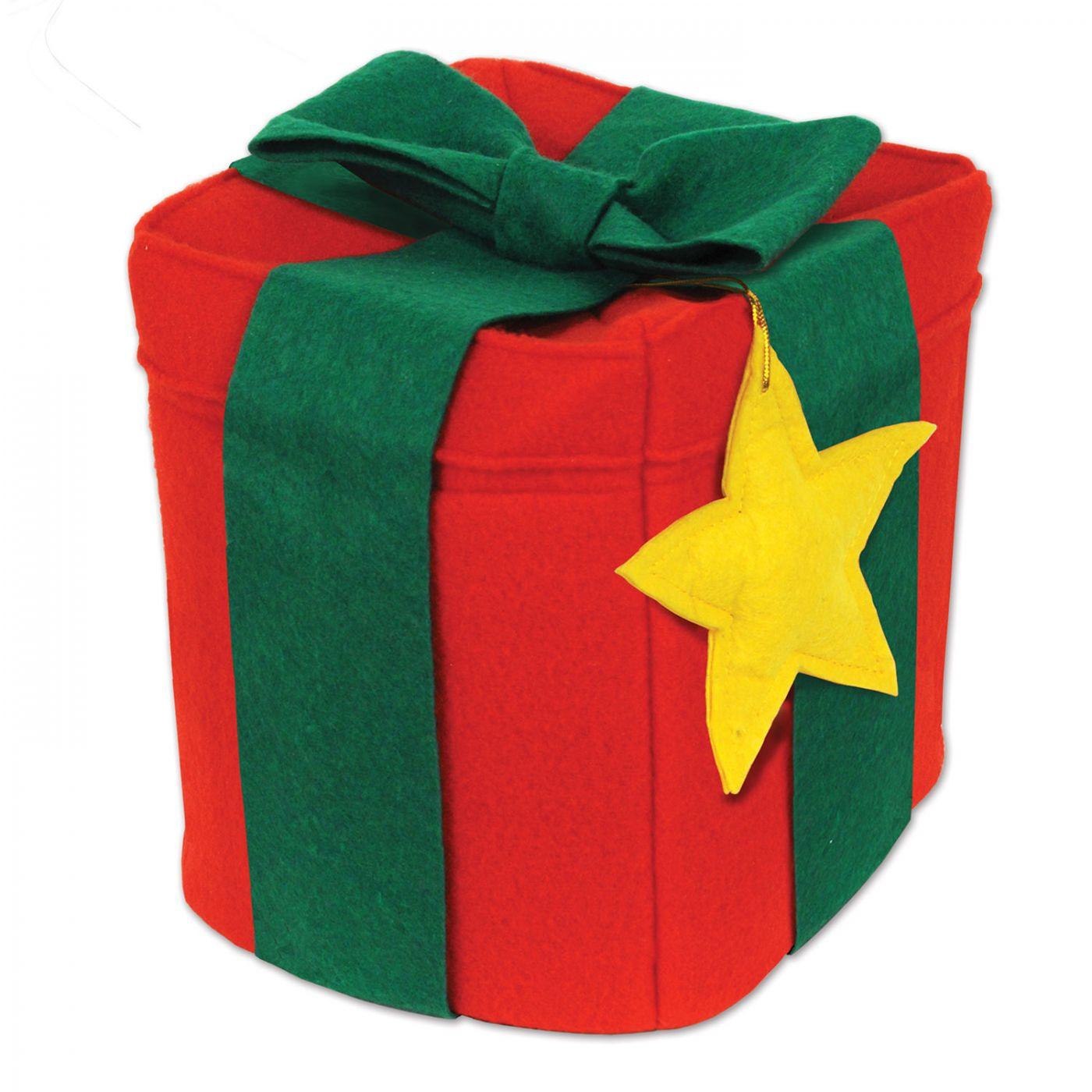 Felt Christmas Gift Hat (6) image