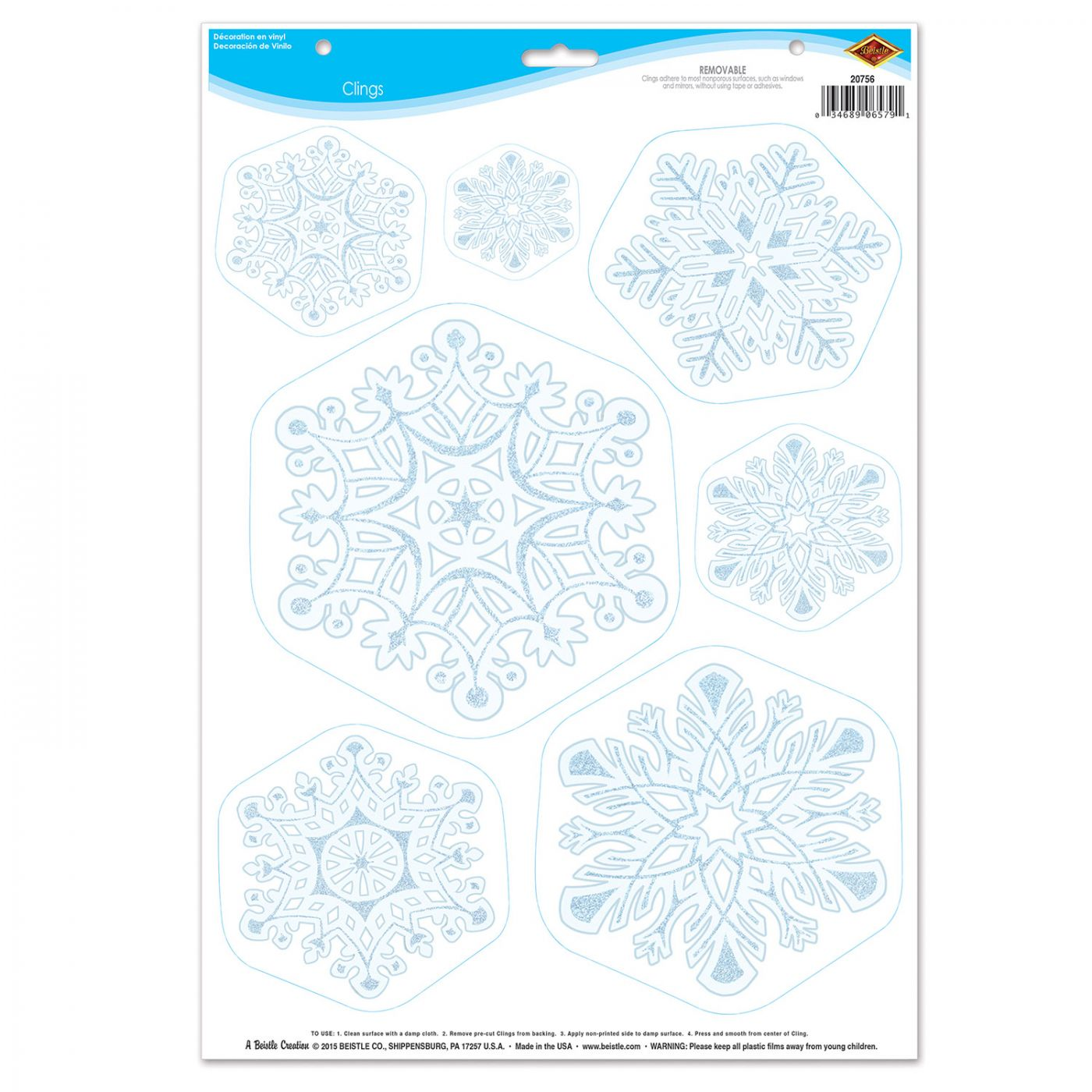 Snowflake Clings image