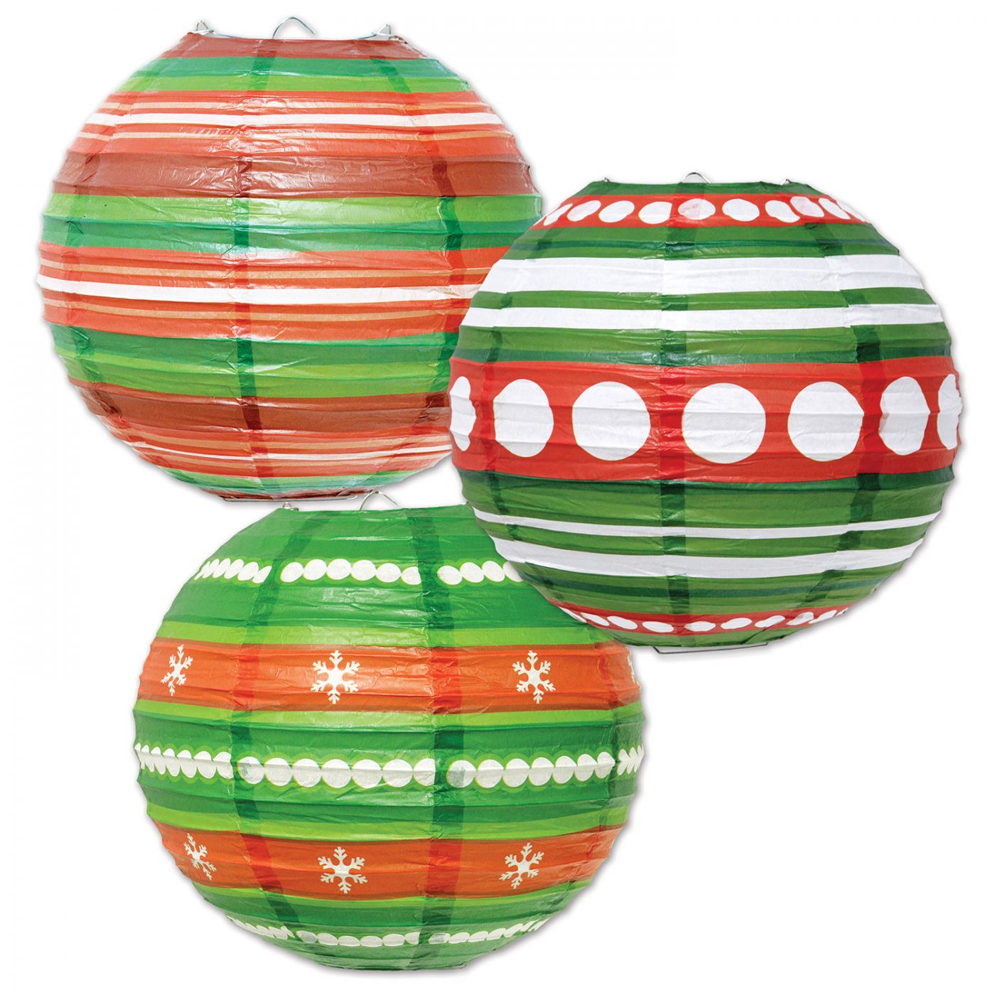 Ornament Paper Lanterns (6) image