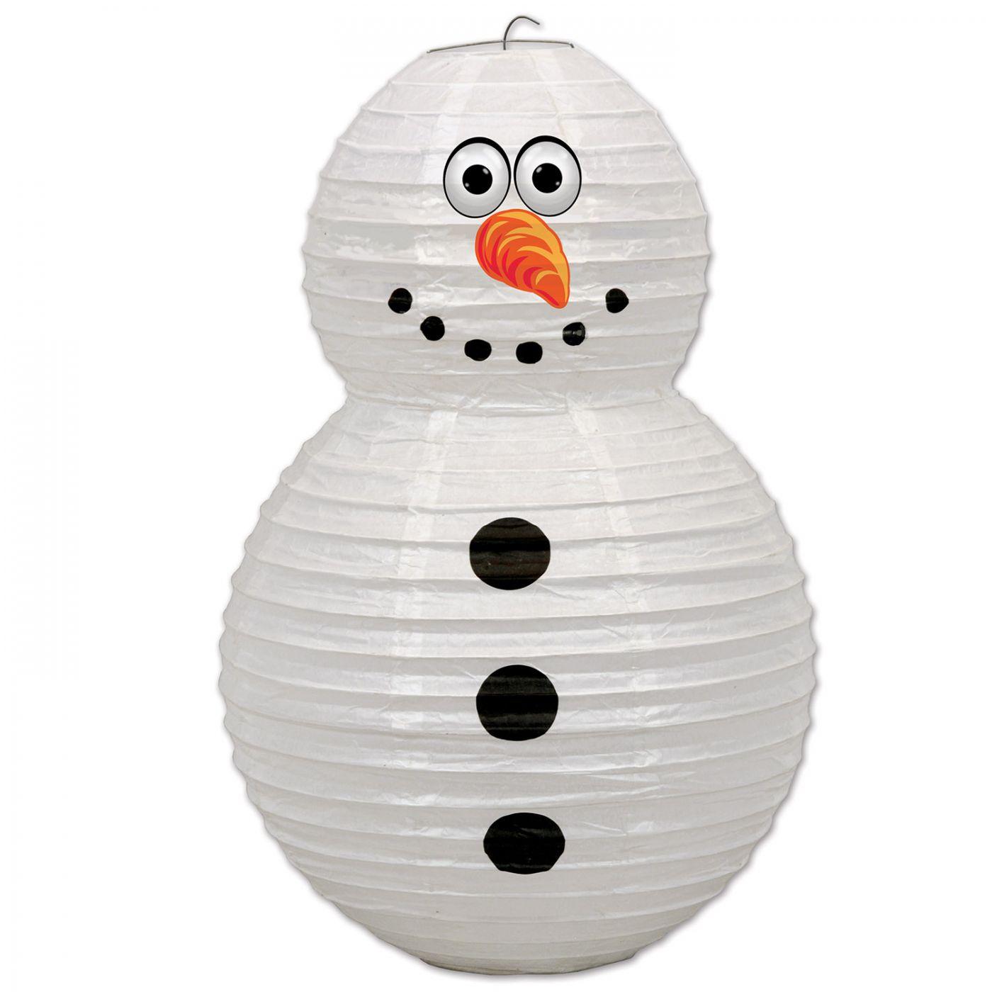 Snowman Paper Lantern (6) image