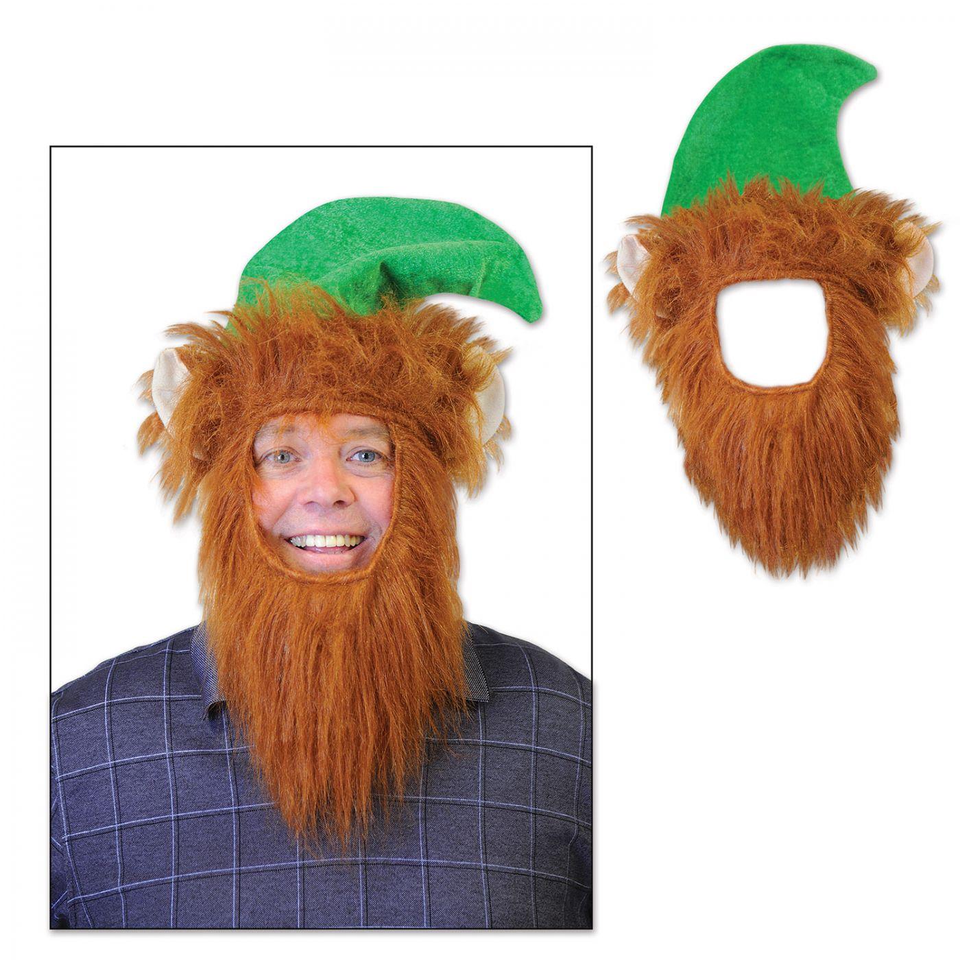 Green Hat w/Beard image