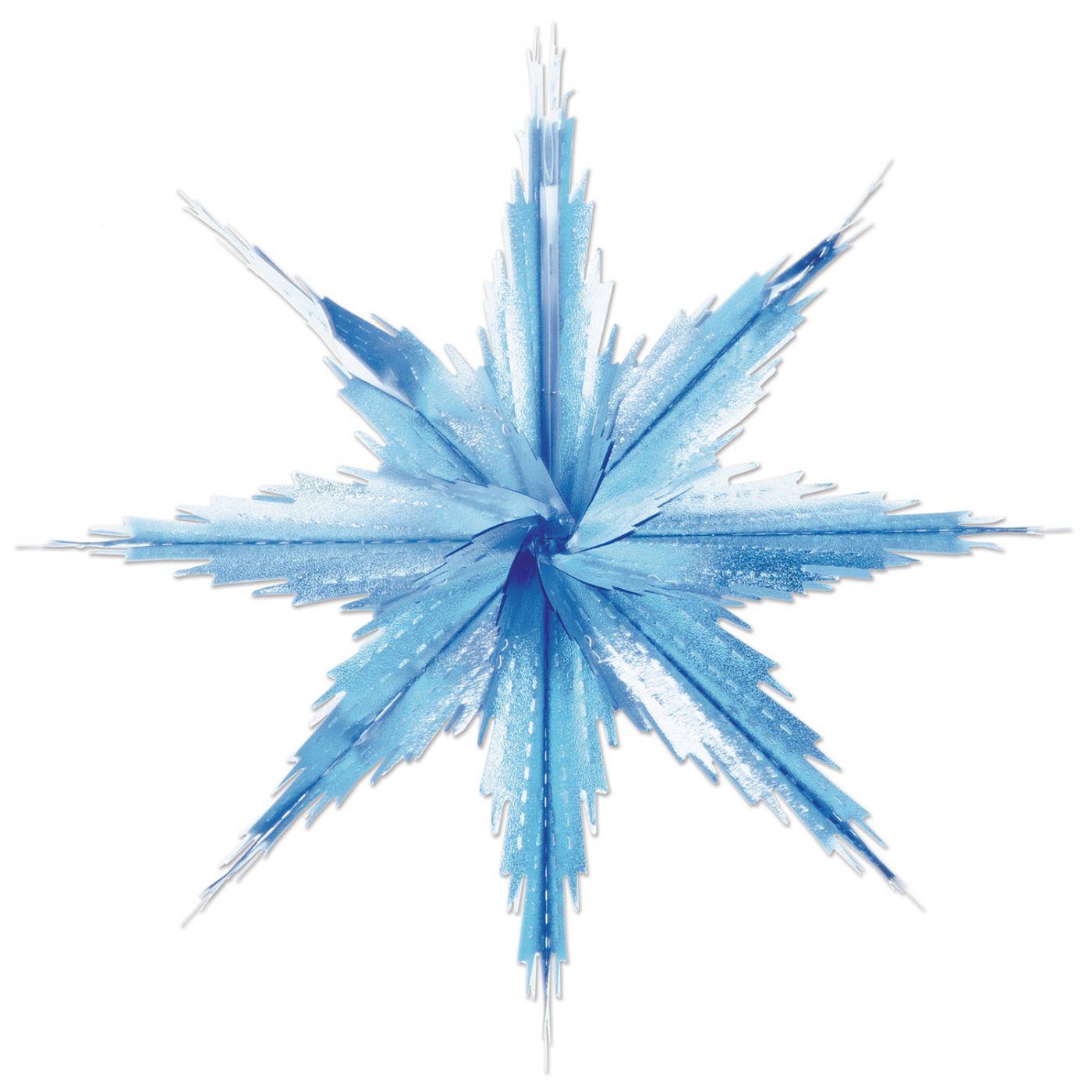 Image of 2-Tone Metallic Snowflakes