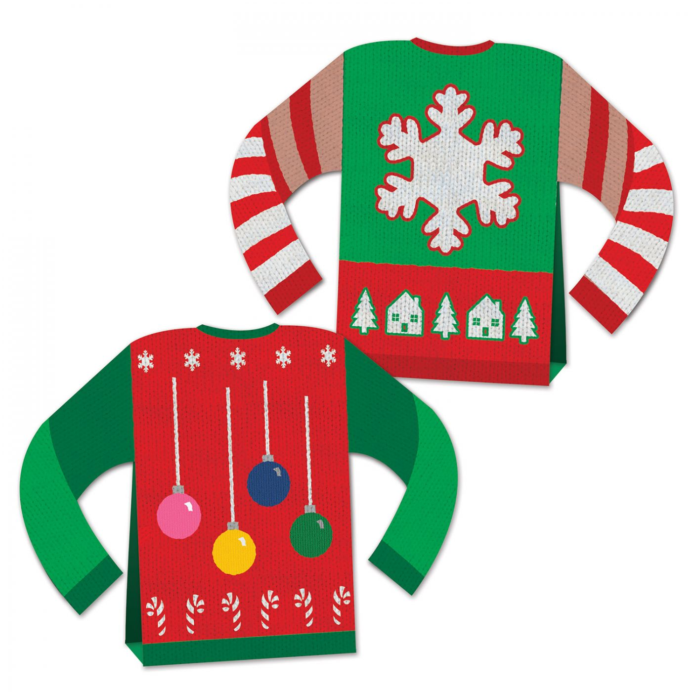 Image of 3-D Ugly Sweater Centerpiece